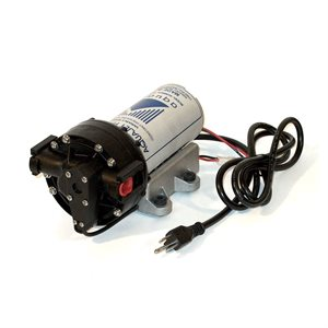 "Aquatec 5853 Delivery Pump - 0.9 gpm, 130/60 psi, 3/8"" JG, 120V Cord"