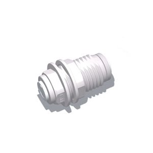 "1/2"" Tube Bulkhead Union (10/Bag)"